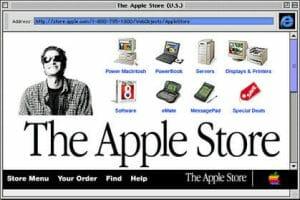 Преди 22 години Apple отваря своя онлайн магазин