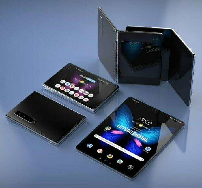 Samsung Fold 2, който се сгъва хоризонтално и вертикално?
