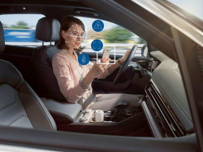 Система от камери и AI на Bosch ще следят дали шофирате безопасно
