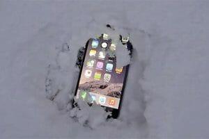 Как да се грижим за телефона в студа