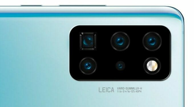 Huawei P40 Pro със сензора на Sony IMX686 (4 Bayer RYYB), Huawei P40 с плосък екран