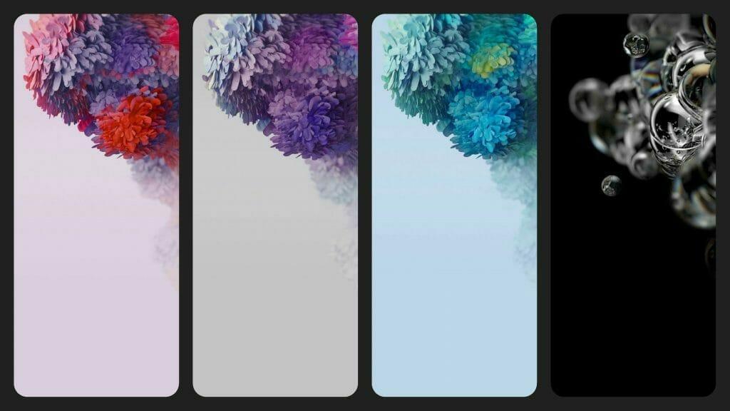 Официалните тапети и спесификации на Samsung Galaxy S20 Ultra (батерия, памет, камери)