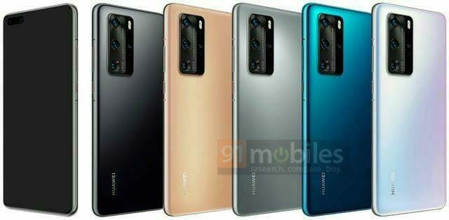 """В серията P40 на Huawei може да има и """"Plus"""" модел – с 6,9 инчов екран"""