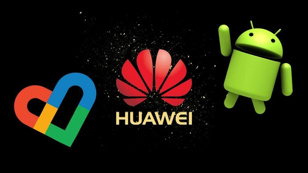 Google кандидатстват за лиценз, за да работят с Huawei