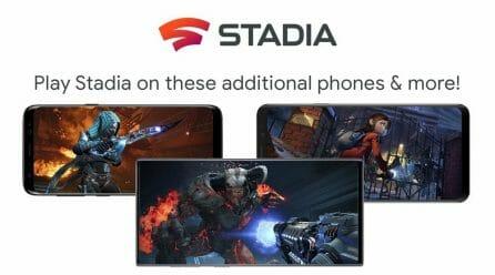 Google Stadia идва за смартфоните на Samsung, Asus и Razer на 20 февруари