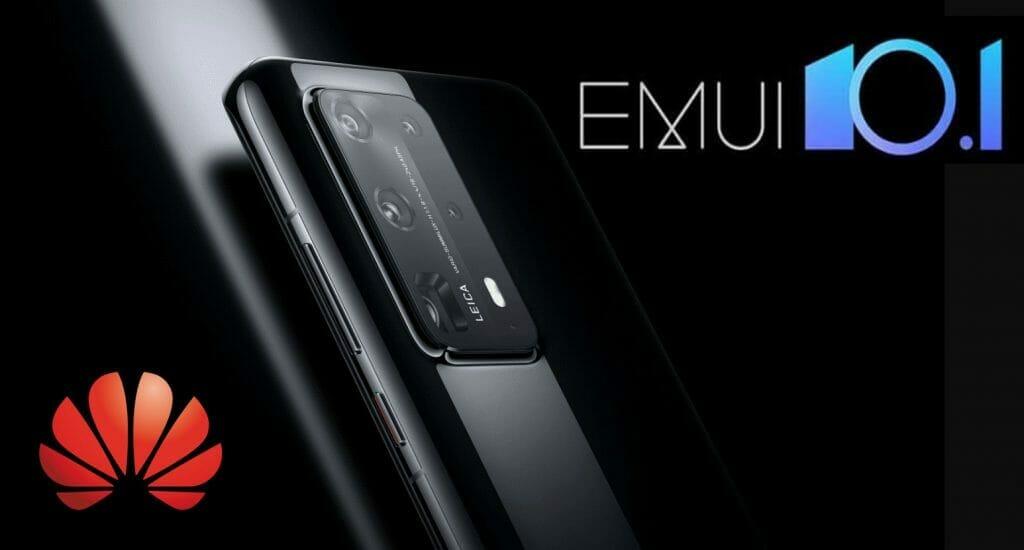 Huawei P40 EMUI 10.1.