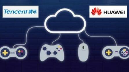 Tencent работят по облачна гейминг платформа съвместно с Huawei