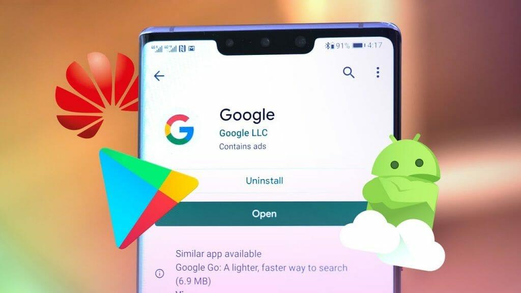 Как да инсталираме приложенията на Google на Huawei смартфон