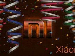 Happy Birthday Xiaomi 10 years