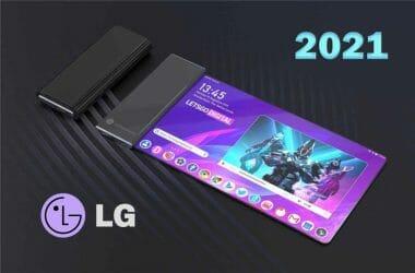 LG телефон навива руло rollable phone