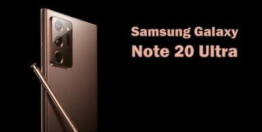Galaxy Note 20 mystic copper