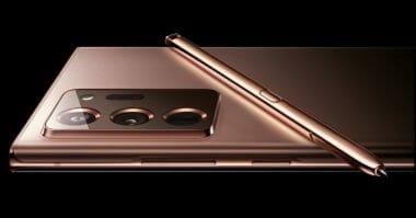 Galaxy Note 20 Ultra Mystic Copper