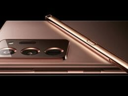 Galaxy Note 20 Ultra Mystic Copper