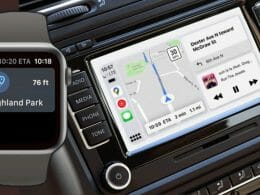 Google Maps on Apple Watch and CarPlay Dashboard
