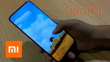 Xiaomi камера под екрана