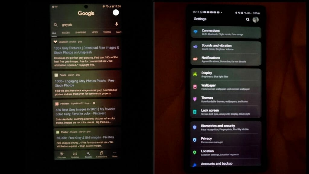 Samsung Galaxy Note 20 Ultra и Tab S7 със зеленеещи дисплеи