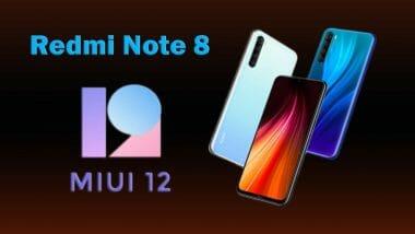 redmi-note-8 MIUI 12