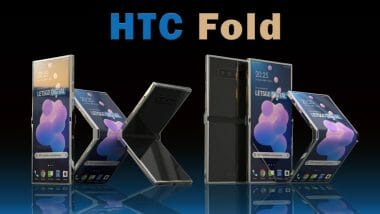 HTC-Fold патент за сгъваем телефон