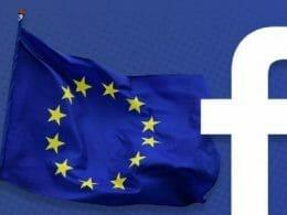 Facebook напуска европа