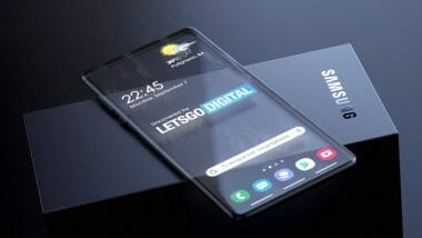 Samsung патент за прозрачен телефон