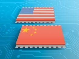 технологичната търговска война сащ китай