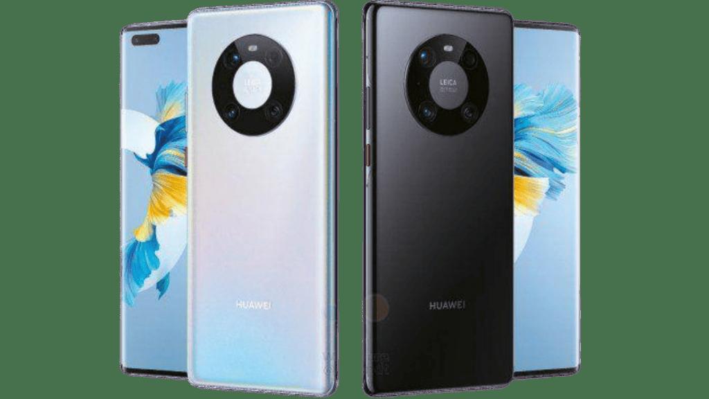 Huawei Mate 40 Pro+ в цвят Glazed White и Bright Black