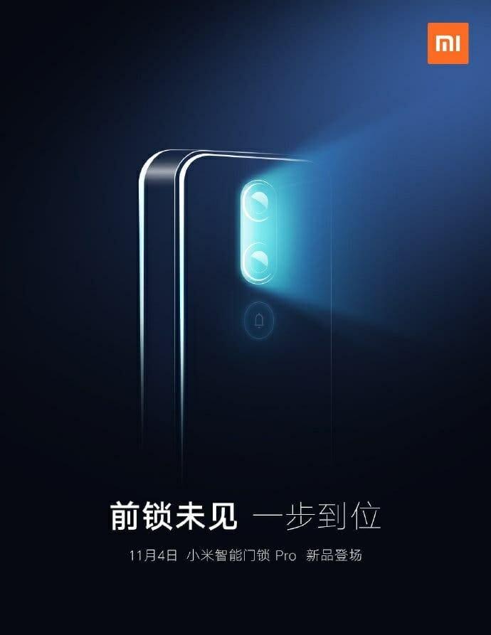 Xiaomi анонсираха интелигентната ключалка за врати Smart Door Lock Pro